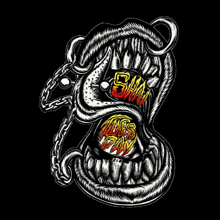 logo from gary BW